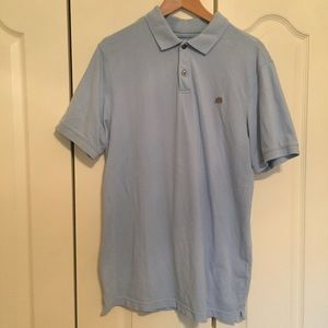 🗽 Banana Republic short sleeve blue polo. EUC